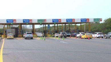 En Cartagena se mantiene suspensión del cobro de dos peajes