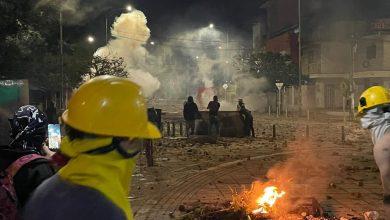 Enfrentamientos en Bucaramanga dejan 20 heridos