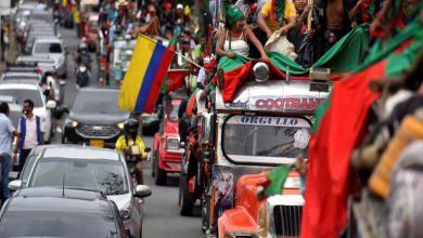 Minga Indígena llegó a Medellín y anunció marchas