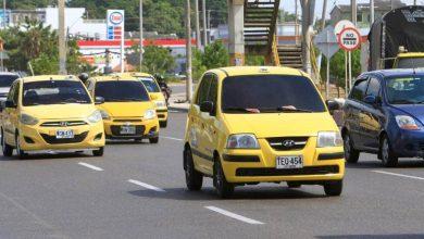 Nuevo pico y placa para taxis en Cartagena