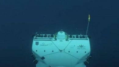 en la tercera Fosa oceánica más profunda, encontraron plástico
