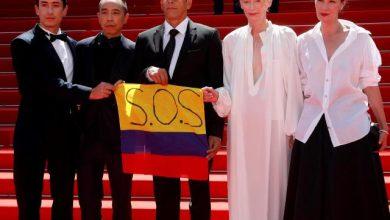 SOS Colombia, el mensaje de actores en la alfombra roja del Festival de Cannes